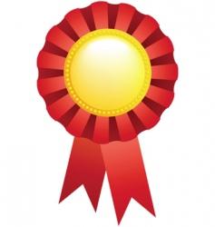 sport award ribbon vector image