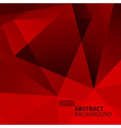 Abstract Dark Red Geometric Background vector image