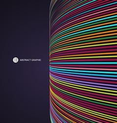 Abstract graphics technological sense vector