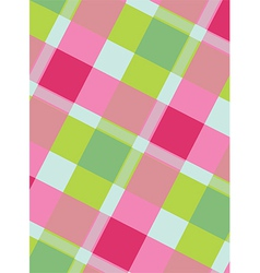 Colorful fresh checkered background vector