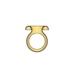 Wobbler computer symbol vector image