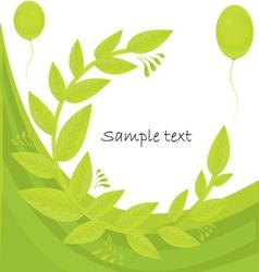 Foliage Background vector image