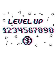 Level up pixel vector