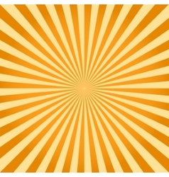 Sunburst ray retro background vector image vector image