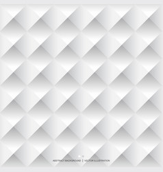 White geometric background seamless pattern vector