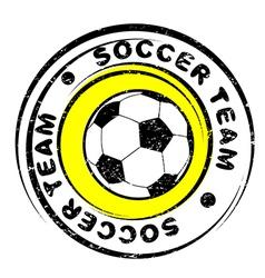 football team vector image