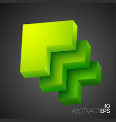 abstract web business template vector image