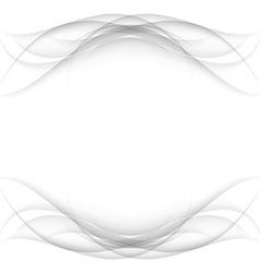 Abstract white frame - data stream concept vector
