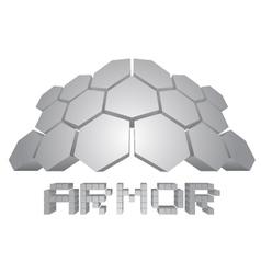 Armor icon vector