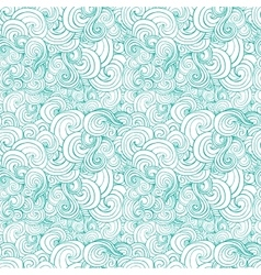 Big seamless pattern with turquoise or blue vector image vector image