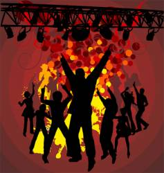 concert background vector image vector image