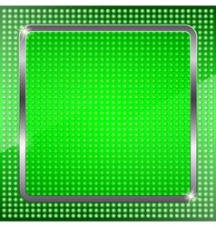 Green fluorescent background vector