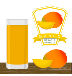 the theme mango vector image vector image