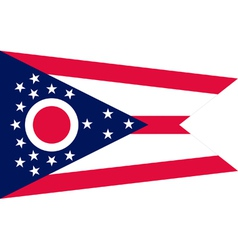 Ohioan state flag vector image