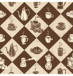 Caffe pattern vector