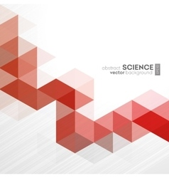 Abstract geometric background with vector image
