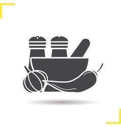 Spices icon vector