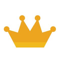 crown jewelry luxury fantasy precious vector image