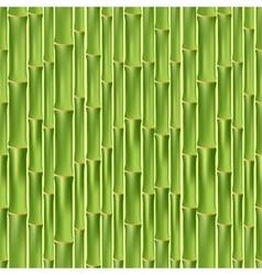 Green bamboo seamless texture vector