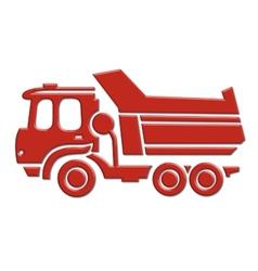 heavy car icon vector image