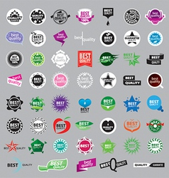 collection of logos of the highest quality vector image