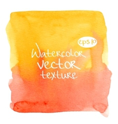 Watercolor texture vector image