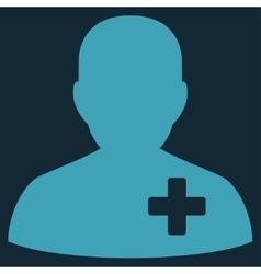 Medical volunteer icon vector