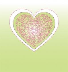 valentine greetings vector image
