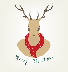 Reindeer christmas vector
