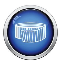 Measure tape icon vector