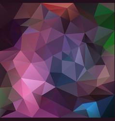 abstract irregular polygon background purple vector image