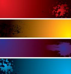 dot band vector image vector image