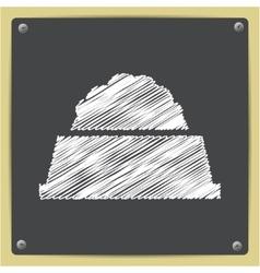 pet food icon vector image vector image