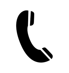 phone pictogram icon image vector image vector image