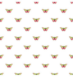 Esmeralda butterfly pattern seamless vector