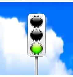 Traffic light vector image