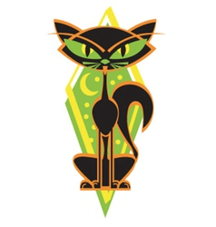 Alley cat vector