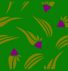 pattern in bright style vector image