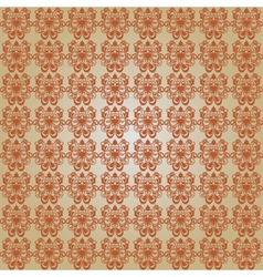 Classic brown pattern vector