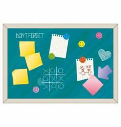 Blackboard vector