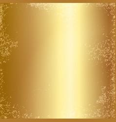 Gold foil texture background vector