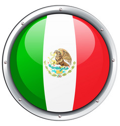Icon design for mexico flag vector