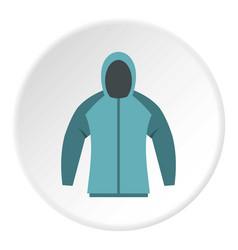 Sweatshirt icon circle vector