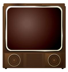 square TV vector image