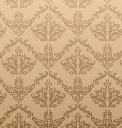 Seamless Gold Vintage Background vector image