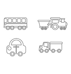 conveyance icon vector image