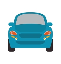 Car automobile transportation design vector