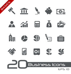 Business Finance Basics Series vector image