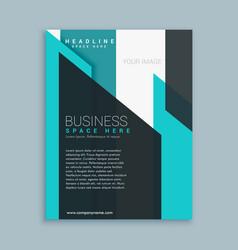 Business brochure template presentation vector