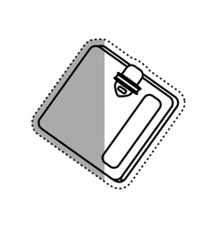 Money wallet accesorie vector